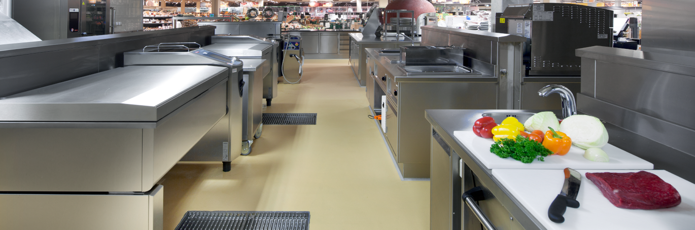 ACO Commercial Kitchen Drainage