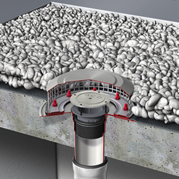 Roof drainage aco systems fze for Roof drainage system