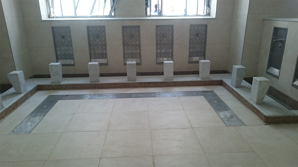 Aco Drainage For Ablution Areas